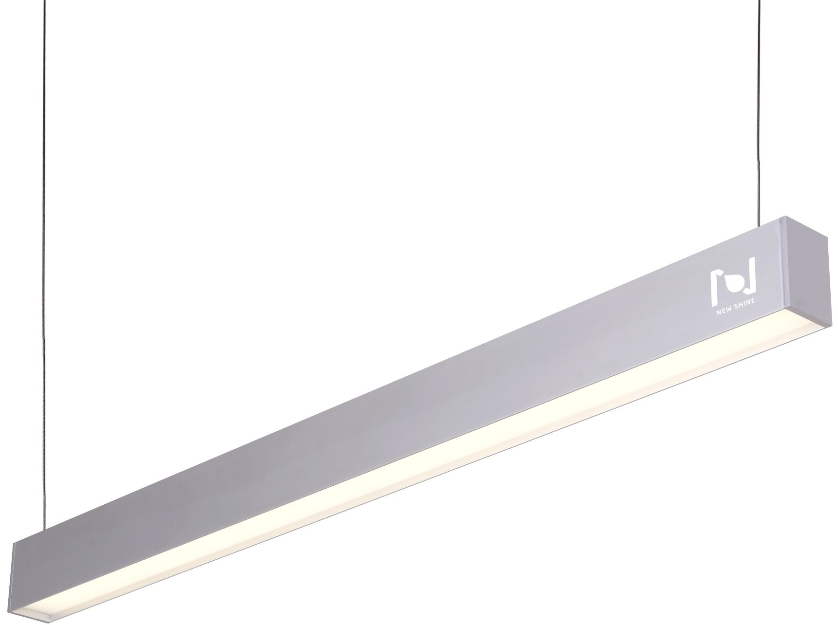 Suspended led linear lightinglinear pendant fixturesoffice direct indirect lighting fixtures ll010380 80w arubaitofo Choice Image