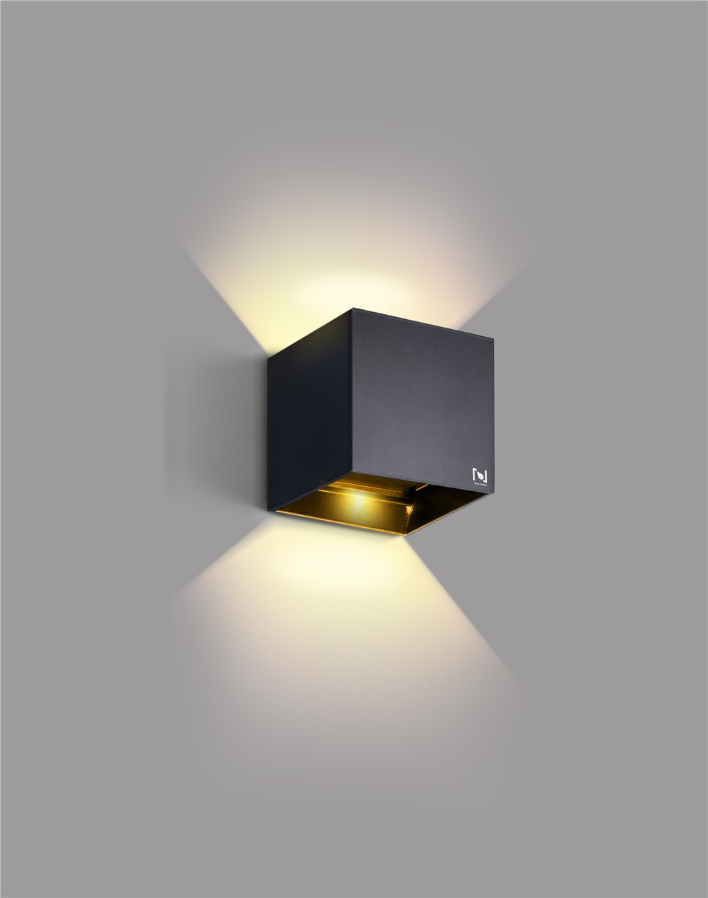 New design 6w square led wall light LL031206