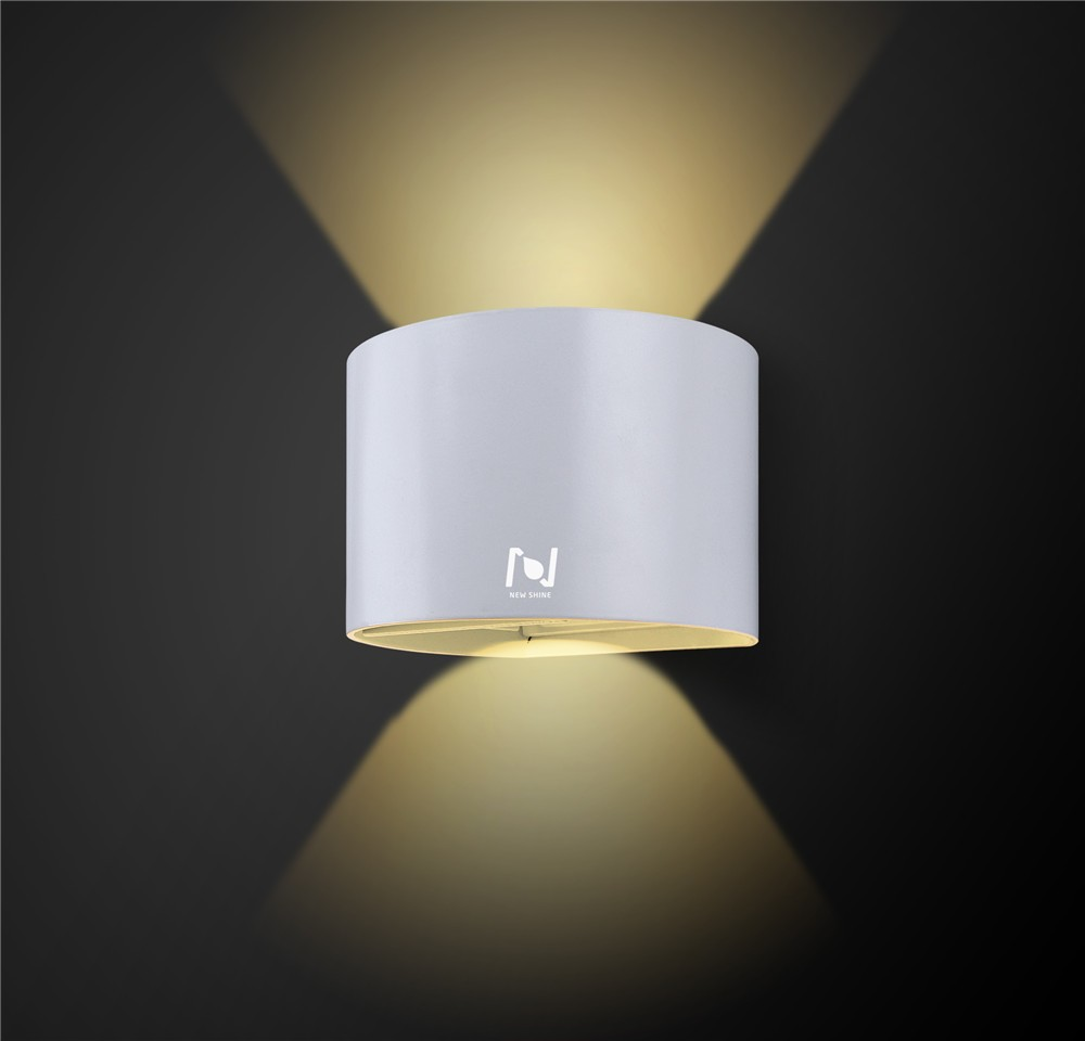 New design 6w up down mounted led wall light LL031506