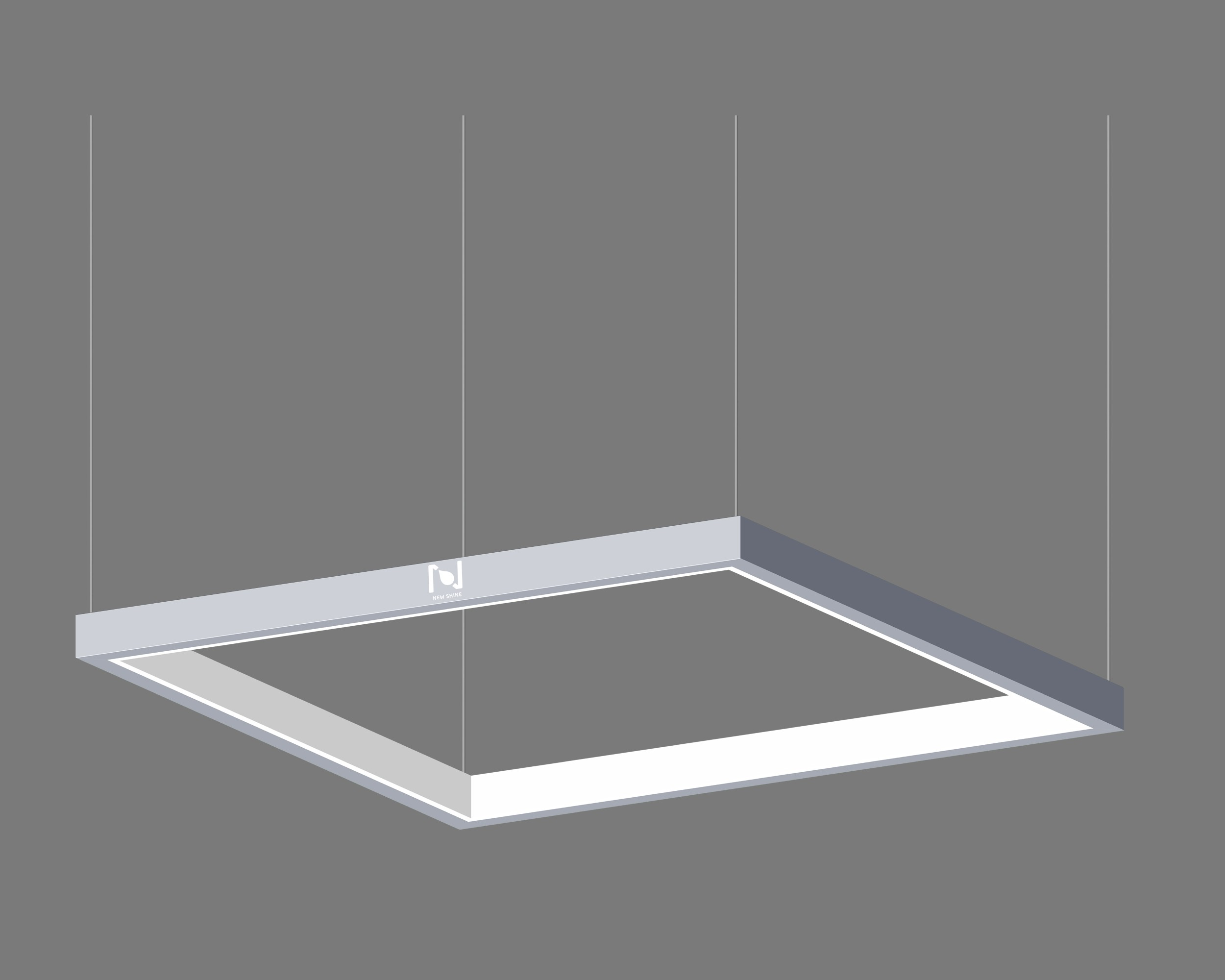 80W Architectural Inner Lit square frame light LL0195S-80W-I