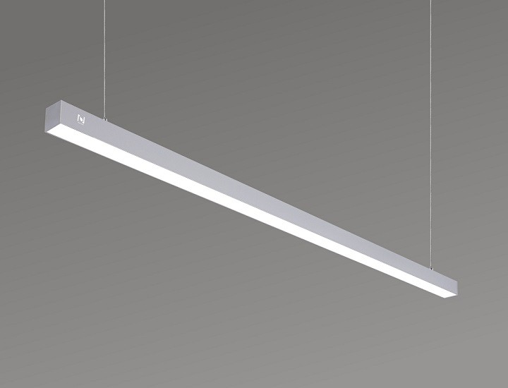 Led up and down emitting suspended commercial linear lights LL0178S-2400