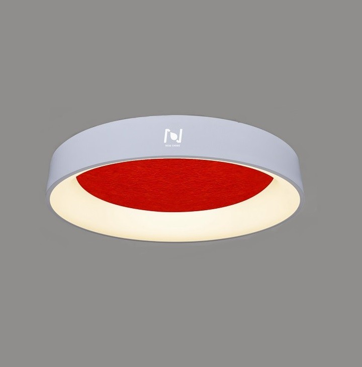 LED acoustic decorative ring light with surface mounted LL0201MAC-15W