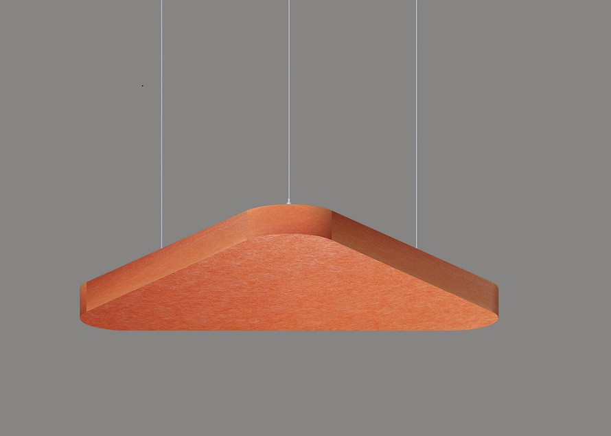 Triangle acoustic panel architectural lighting manufacturers LL0302SAC-780
