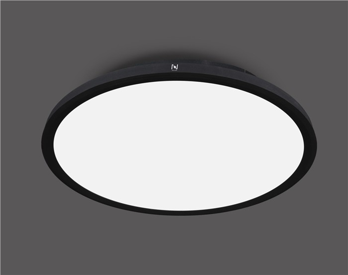 Factory price energy efficient round slim ceiling moon lights LL0114M-90W