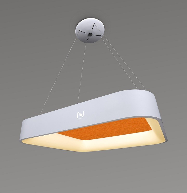 LED acoustic decorative square light suspended LL0202SAC-25W