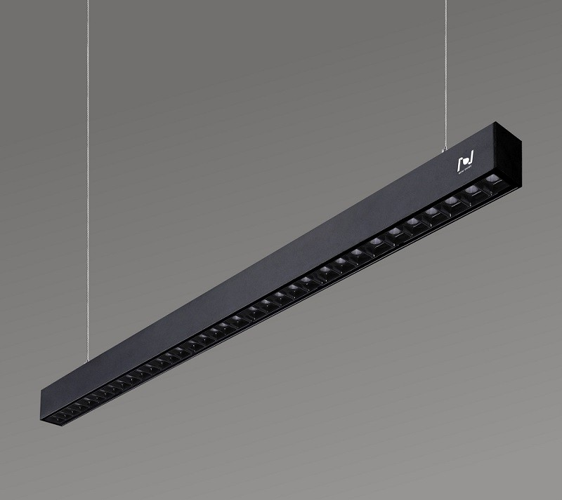 Office lighting project led grille linear lights LL0108S-2400