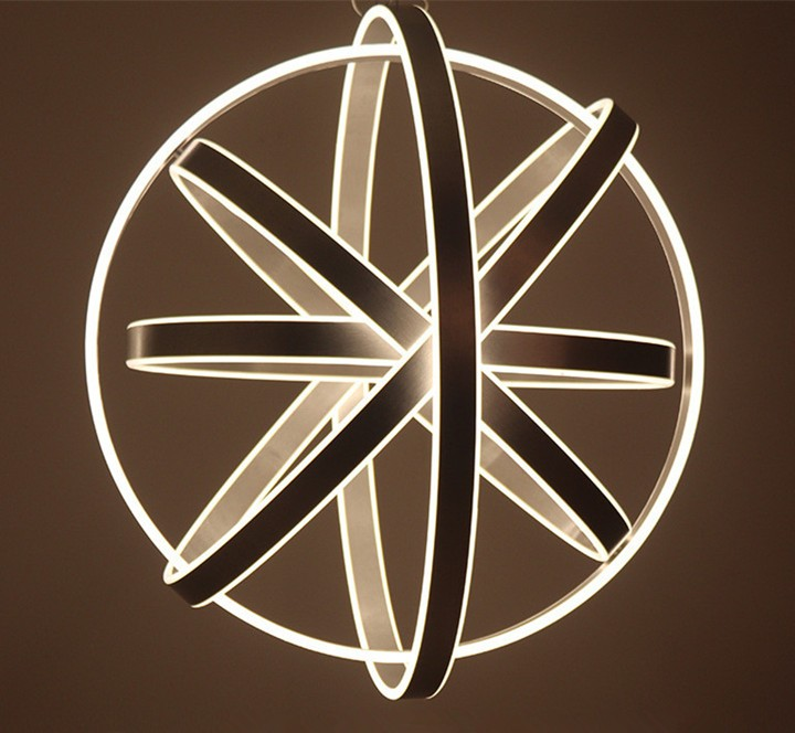 Global decorative circle lighting led ring lights LL0212250S-250W