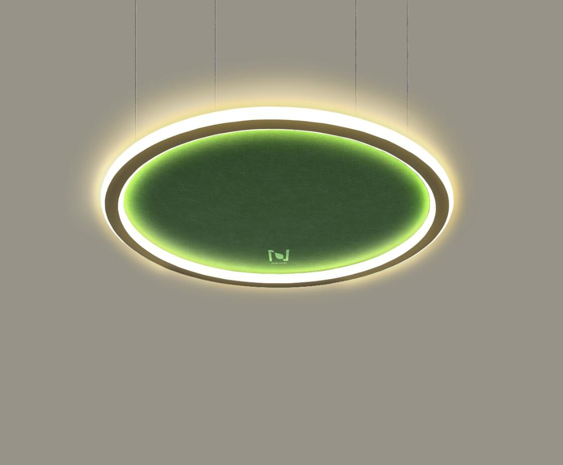 LED architectural lighting suspended acoustic ceiling light LL0213ASAC-100W