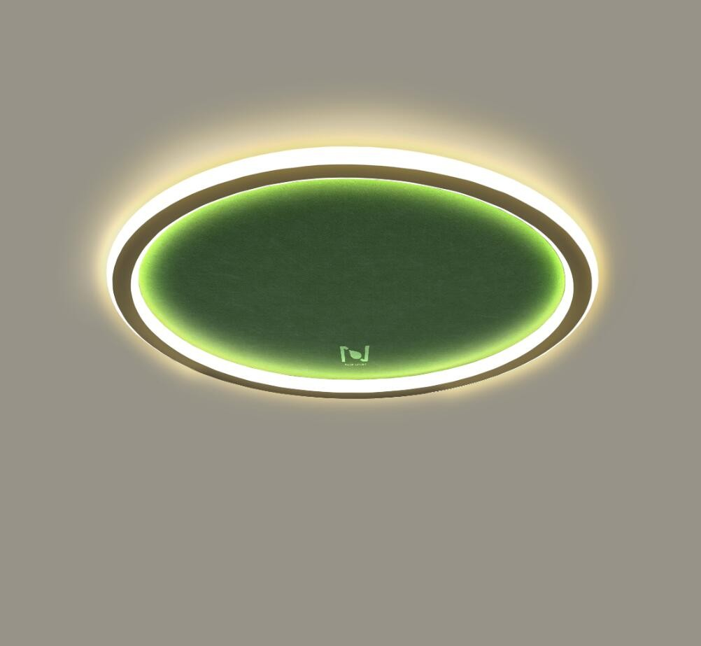 LED surface mounted acoustic ceiling light architectural lighting LL0213AMAC-32W
