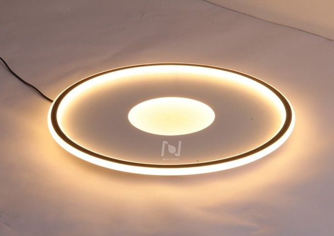 Surface Mounted round led ceiling lights decorative lighting LL0213BM-80W
