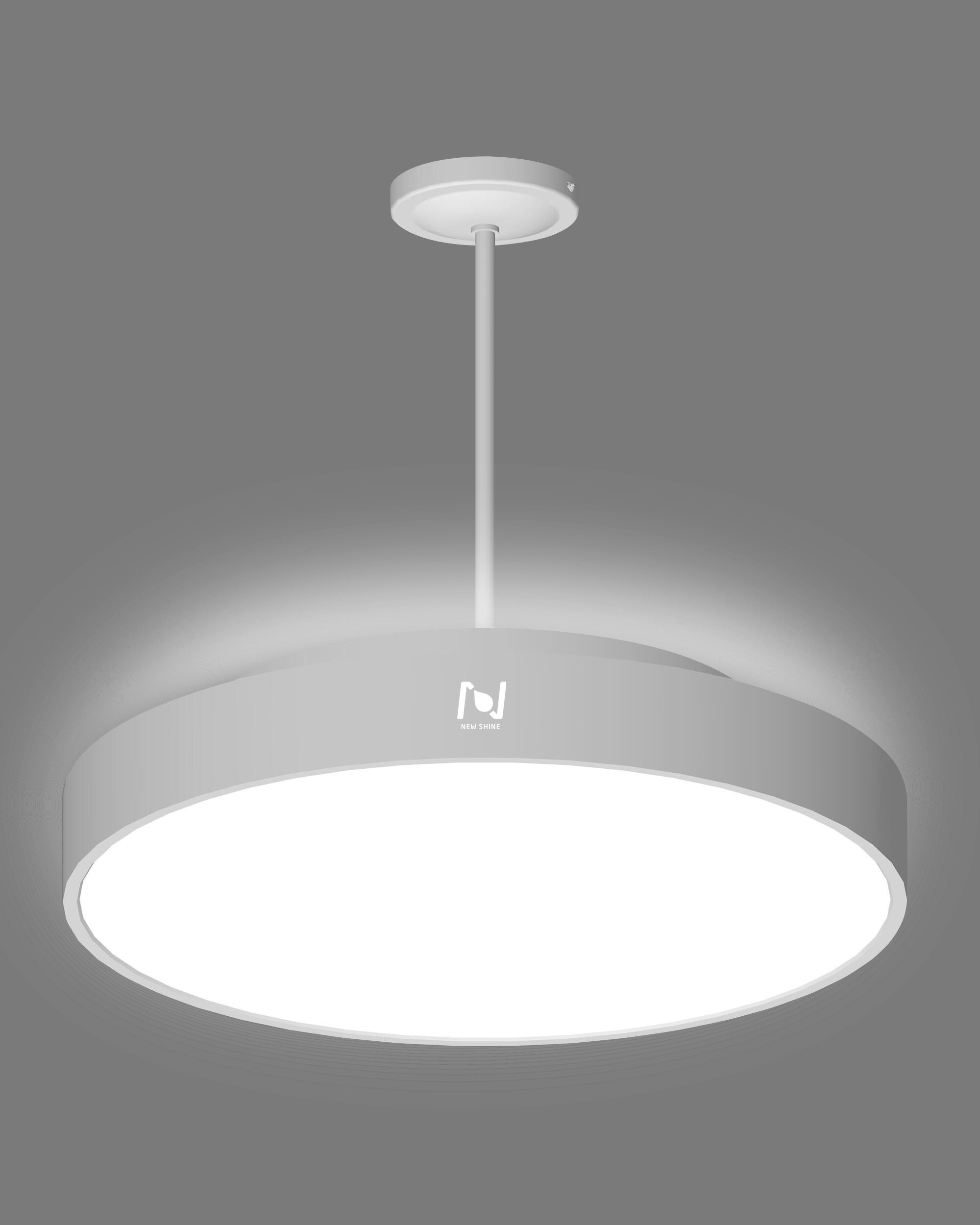 Stem pendant LED moon light architectural lighting solutions LL0112UDST-50W