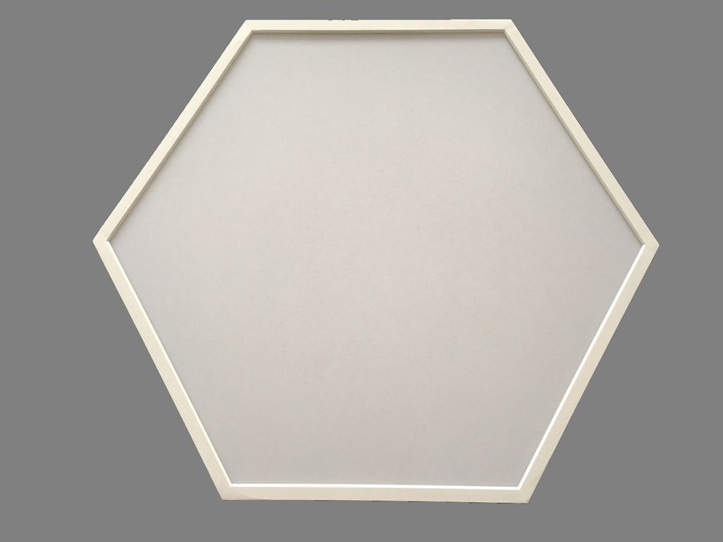90W Hexagon LED Panel Light Ceiling lighting LL018690M-90W