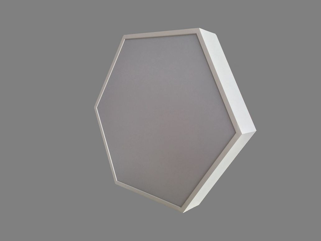 Suspended Hexagon LED Panel Light Ceiling lighting LL018690S-90W