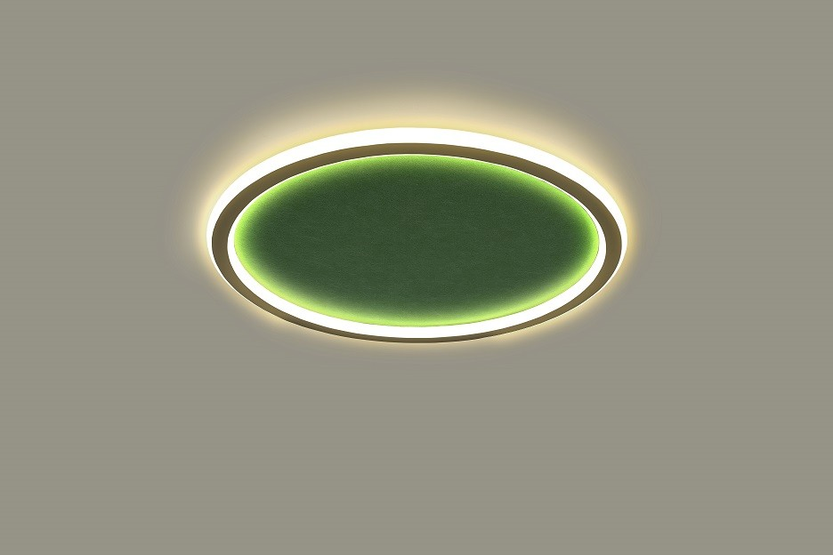 Architectural lighting surface mounted acoustic cloud light LL0213AMAC-100W