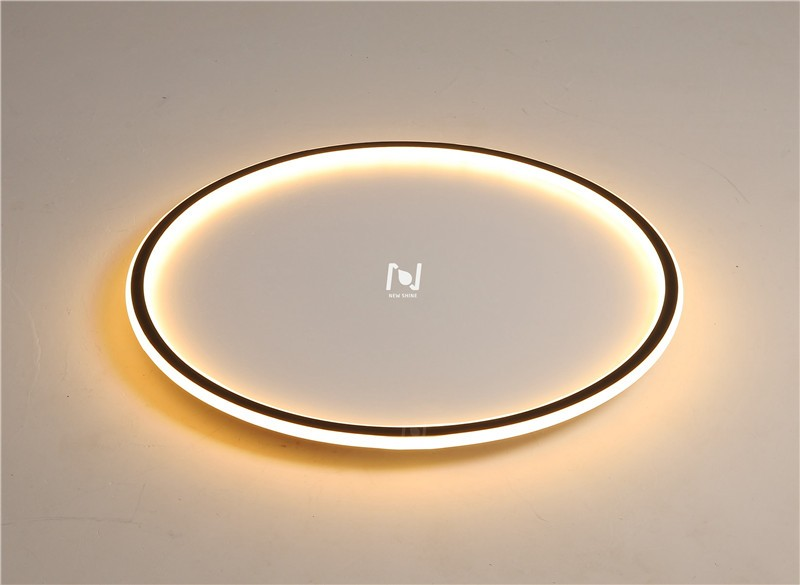 Slim round light ceiling mounted light LL0213AM-45W