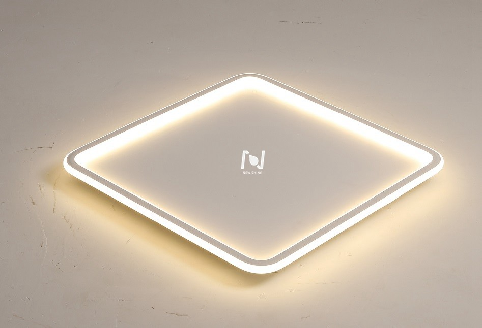 Square cloud suspended light architectural indoor light LL0214AS-100W