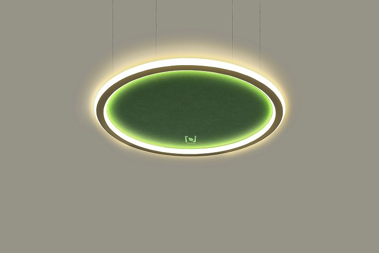 Cloud series architectural lighting manufacturer acoustic light LL0213ASAC-32W