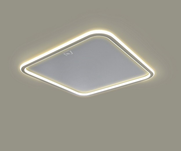 Cloud Series slim surface mounted led architectural interior light LL0214AM-100W