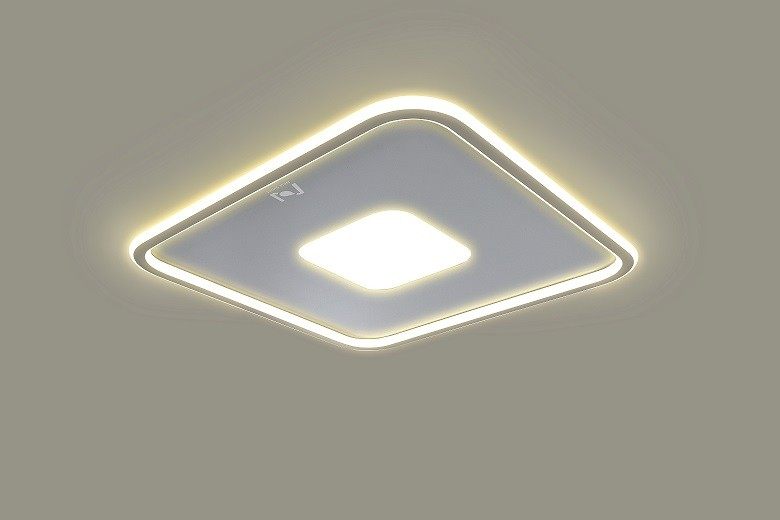 Mounted LED square ceiling lights decorative lighting Cloud Series LL0214BM-50W