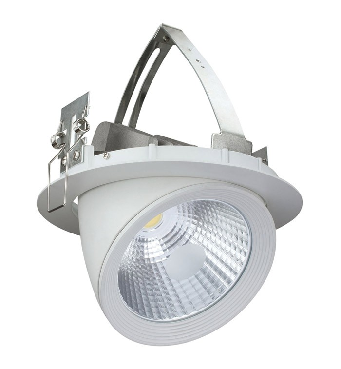 Rotated Recessed LED Down Light LL0404
