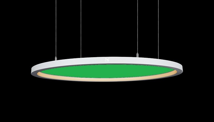 Suspended acoustic inner emitting circle lights LL0125AC100S-100W