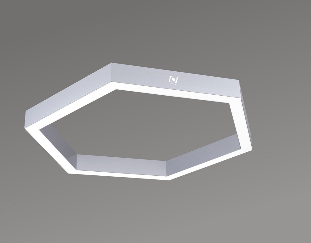 Hexagon LED Linear Lights Surface Mounted architectural Lighting LL0187M-25W