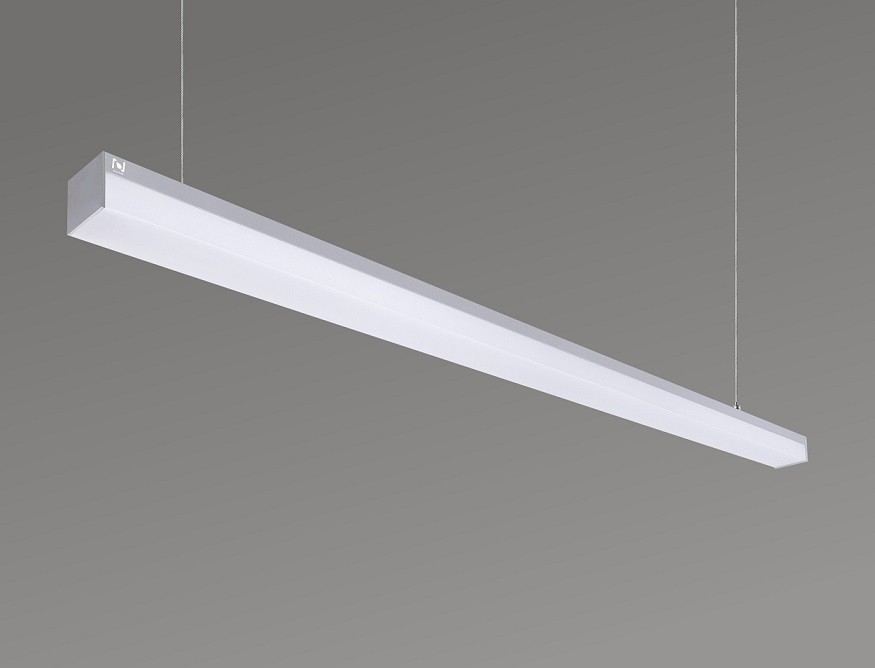 Architectural lighting manufacturers suspended linear lights  LL0141RS-2400