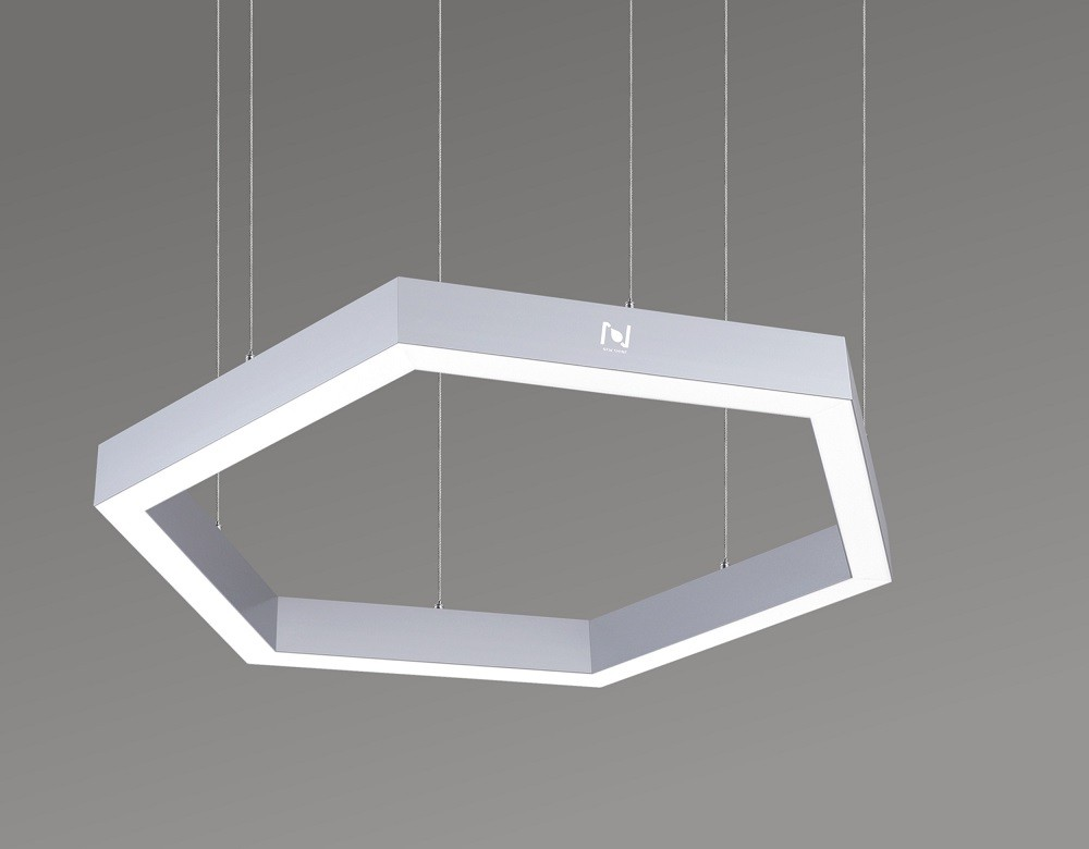 Hanging hexagon lamp pendant LED decorative frame light LL0187S-180W