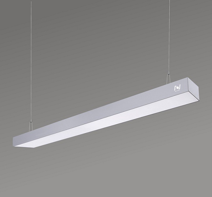Led pendant linear lights for office LL0130S-2400