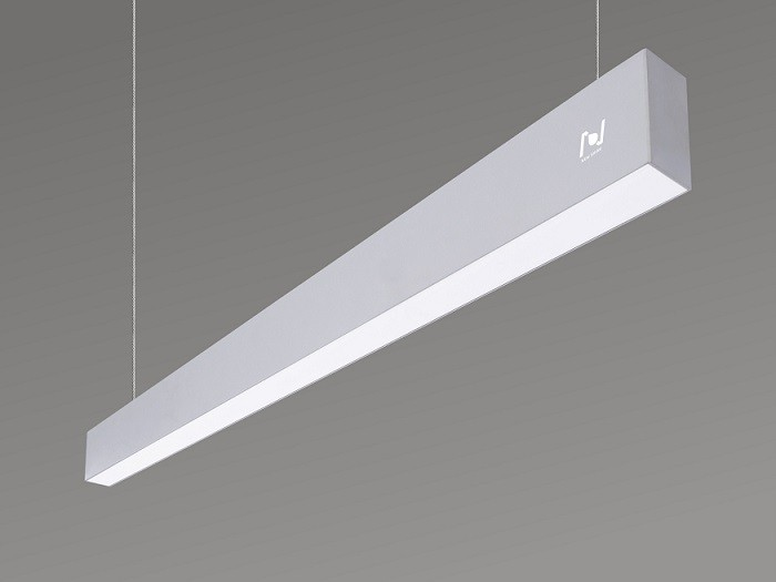 Suspended linear light lighting project solution  LL0155S-1200