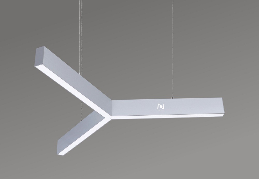 Y shape led pendant light architectural lighting solutions LL0190S-120W