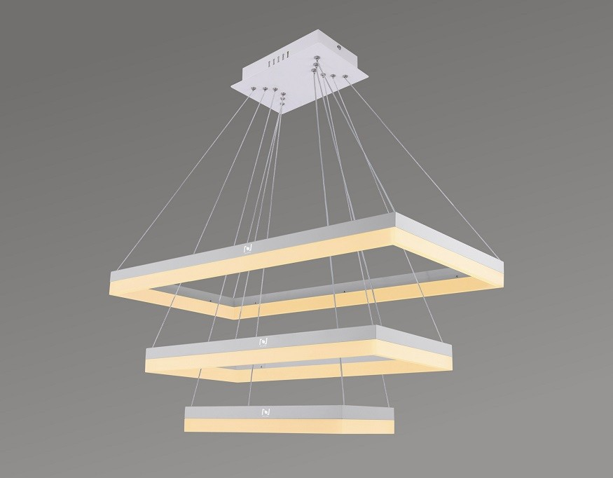 large rectangle led ceiling light decorative lighting LL0209S-80W