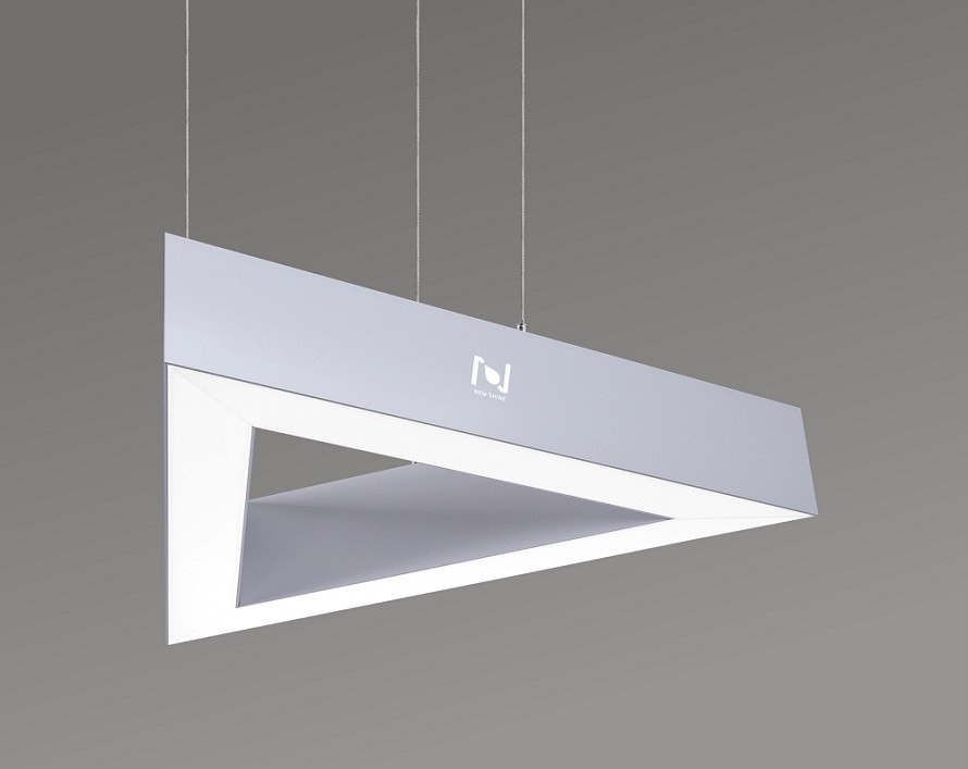 TRIANGLE LED DECORATIVE LIGHT WITH SUSPENDED WAY LL0188S-90W