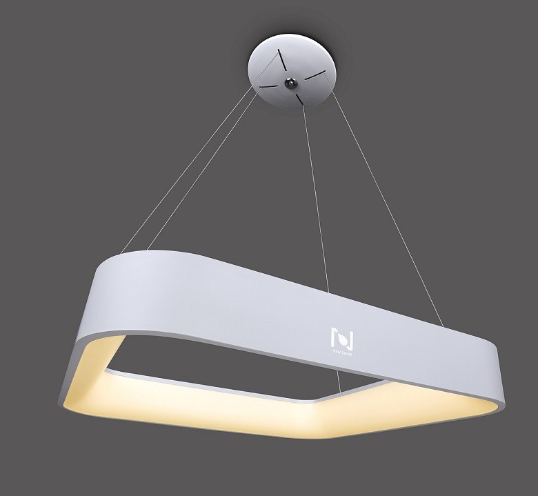 Suspended square led decorative light LL020215S15M-15W