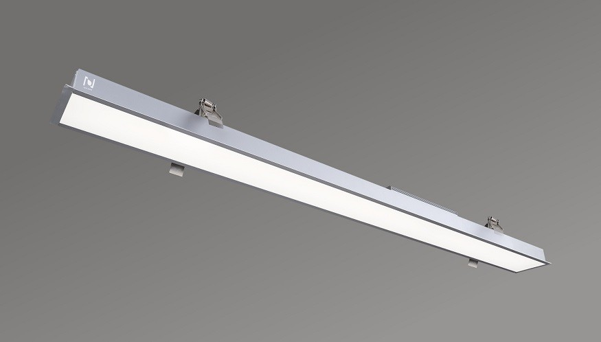 Aluminum profile LED recessed commercial linear lights LL0148R-1500