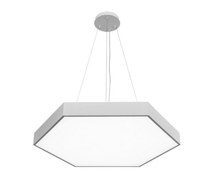 Hexagon LED Acoustic Panel Light Suspended LL0186ACS-480