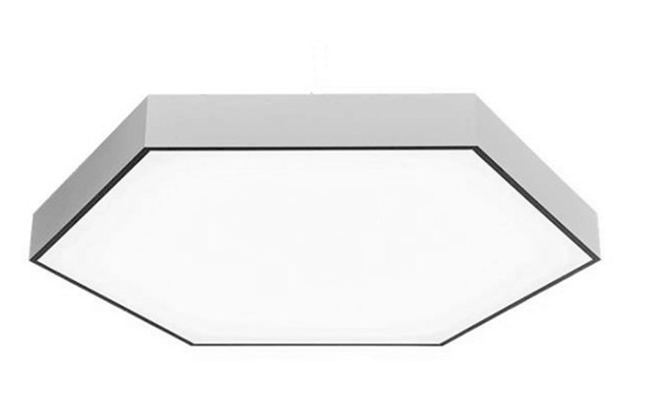 Hexagon LED acoustic light surface mounted office lighting LL0186ACM-600