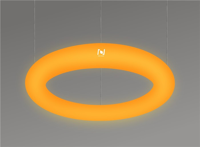 Decorative lighting factory suspended LED Doughnut Ring Light LL0175S-36W