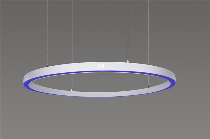 led architectural lighting 85W pendant led circle light LL0113S-85W-RGBW