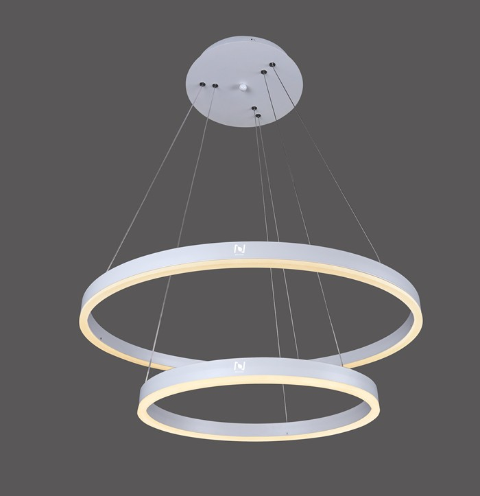 Hanging circle lamp pendant decorative ring light LL020325S-25W