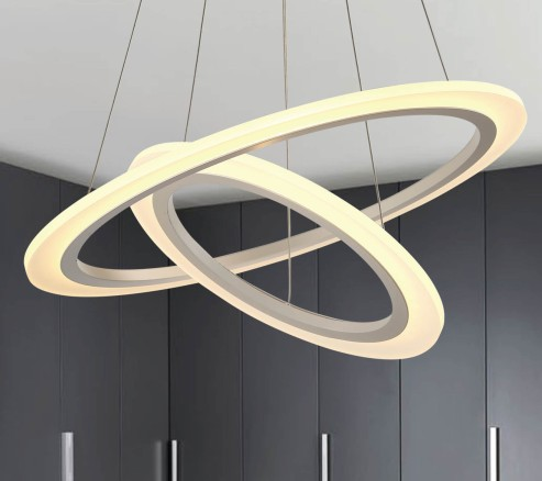 LED Pendant Lights Hanging Lighting Circle Rings LL021140S-40W