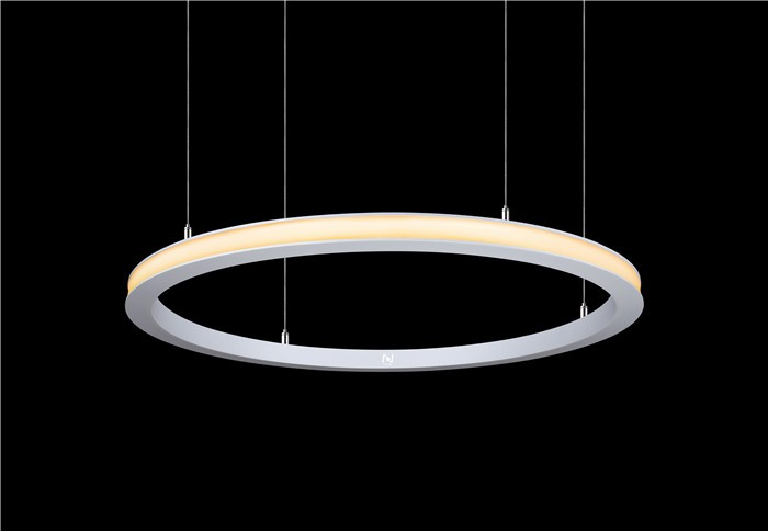 Promotion new released outer emitting Led circle light suspended way LL012036S