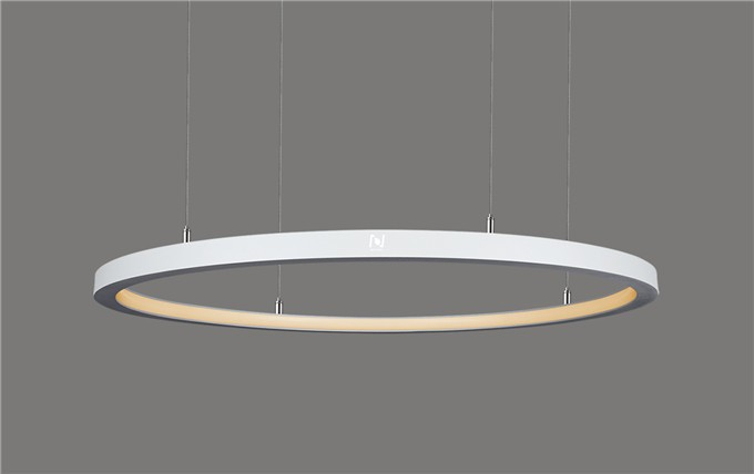 Architectural lighting manufacturers inner emitting Led ring light LL0125S-80W