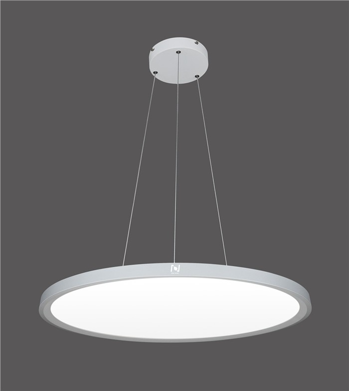 Modern suspended led pendant round ceiling lights  LL011450S-50W