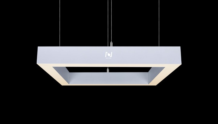 Square suspending led pendant light LL0116160S-160W