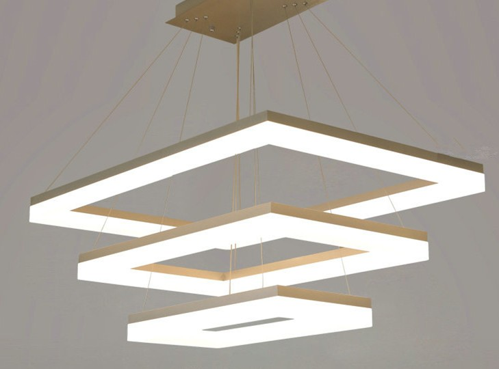 large rectangle led ceiling light LL020980S-80W