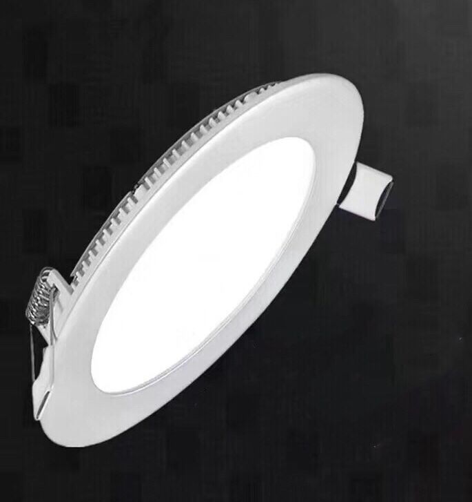 High Lumen Recessed Round Ceiling LED Panel light LL060304R