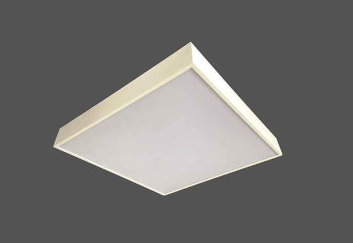 Square panel pendant light LL018590S-90W