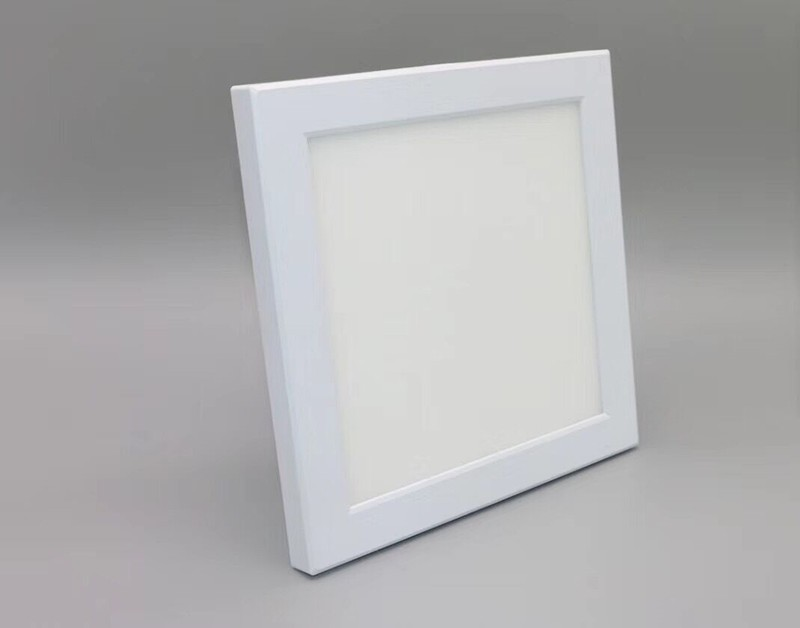 Wholesale price easy installation square led panel Light LL060409R-9W