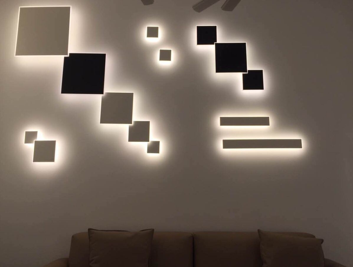 Good quality creative design surface mounted project 18w led wall light